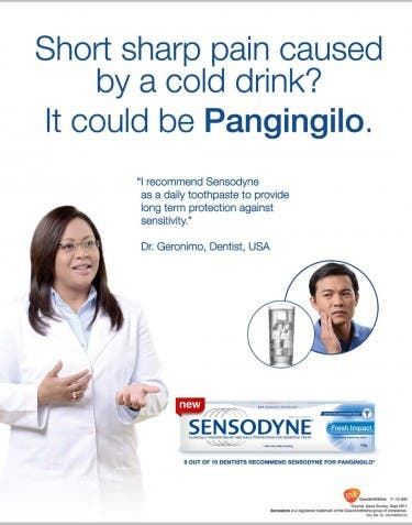 Sensodyne Fresh Impact Key Visual