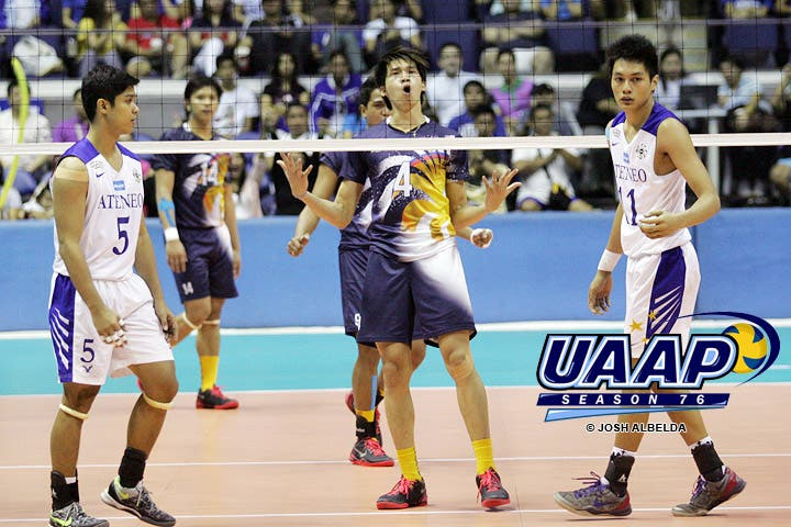 UAAP Season 76 Mens And Womens Volleyball Championship Games TV Special Air On ABS CBN Sports Action