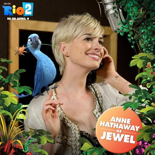 Anne Hathaway Reprises Role As Jewel In 'Rio 2'