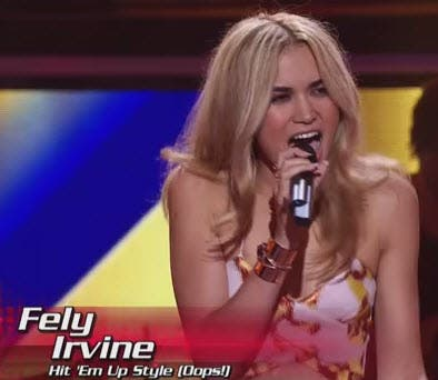 Fely Irvine The Voice