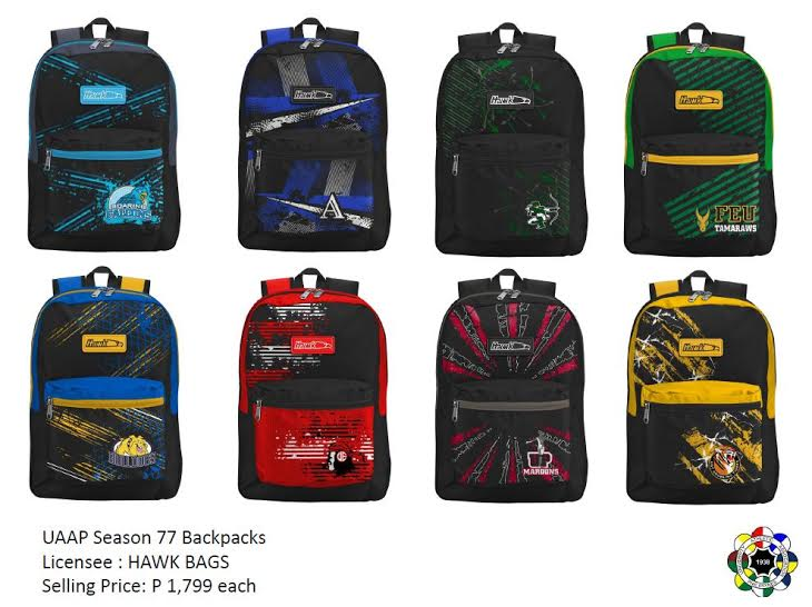 8aaddeb51796 UAAP Bags from Hawk Now Available