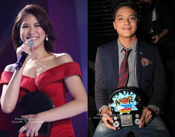 Daniel Padilla, Sarah Geronimo Lead Winners of MOR Pinoy Music Awards