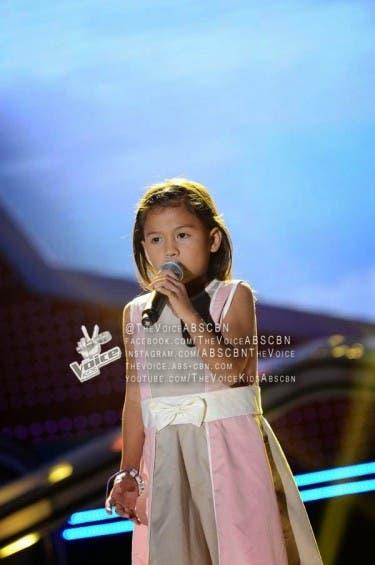 Lyca Gairanod Sings Pangarap Na Bituin on The Voice Kids Semi-Finals
