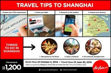 Travel Tips to Shanghai