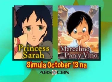 Princess sarah and marcelino return to abs cbn starting - Princesse sarah 10 ...