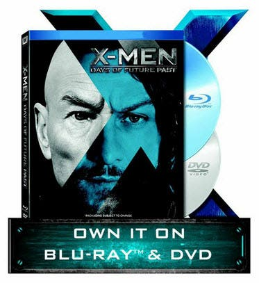 Xmen DVD BluRay