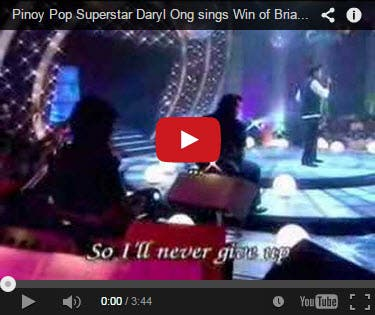 Daryl Ong Pinoy Pop