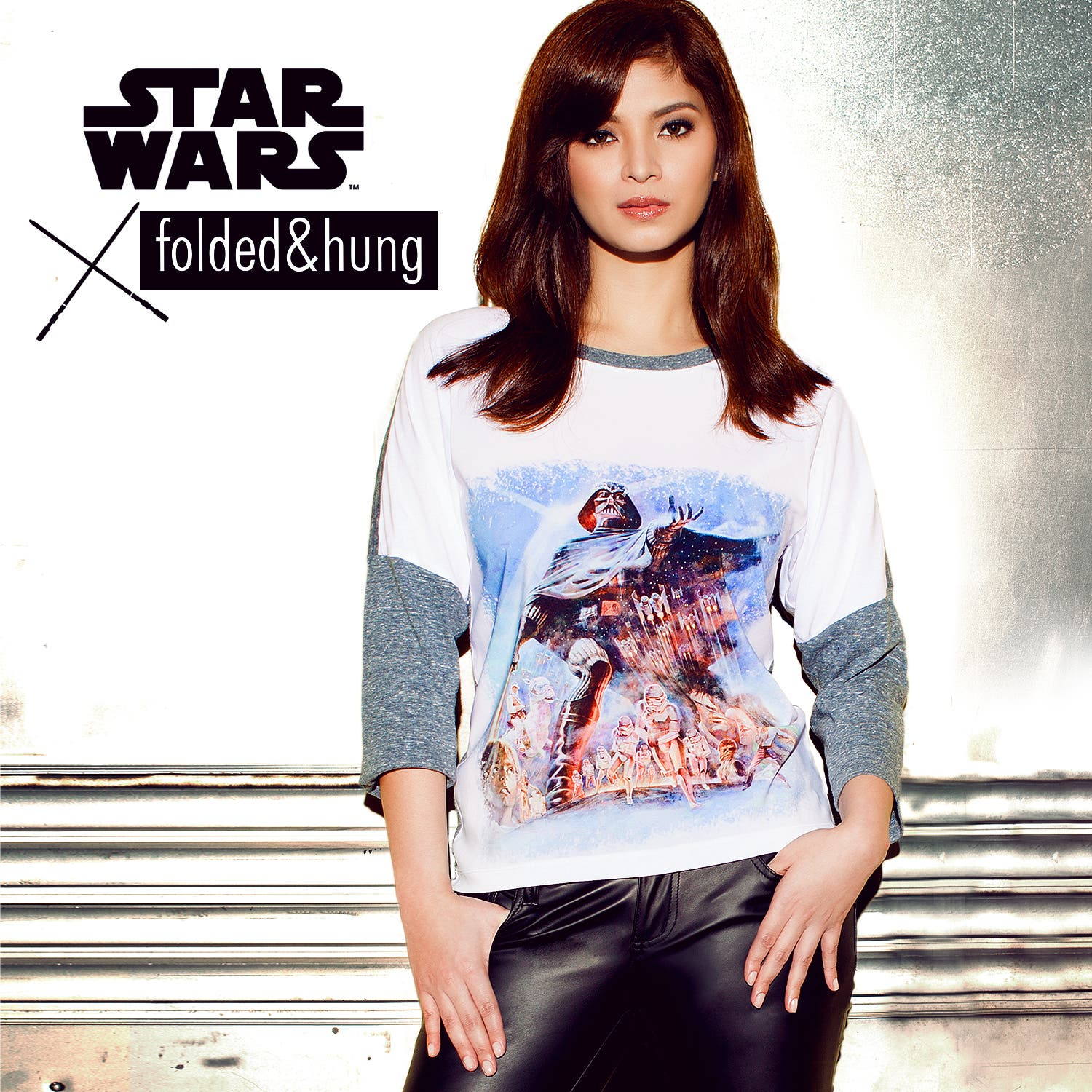 Angel Locsin For #StarWarsXFoldedAndHung