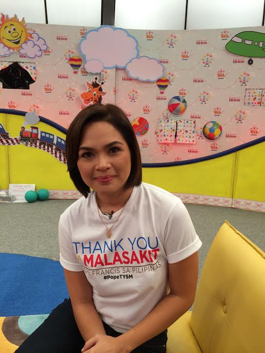 Judy Ann Santos Lauds Popes Compassion For Yolanda Victims