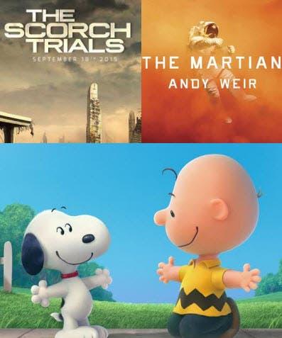 Scorch Trials Snoopy Martian
