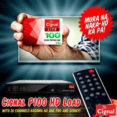 Cignal P100 HD