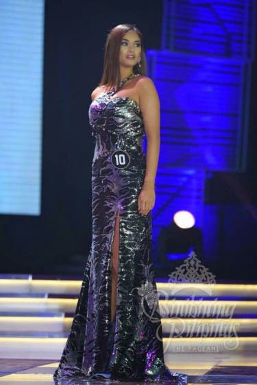 Pia Alonzo Evening Gown