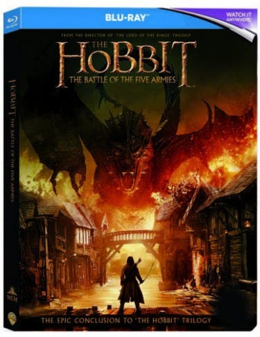 The download the the of battle hobbit five bluray armies