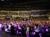 crowd at the Showtime Kapamilya Day (1)