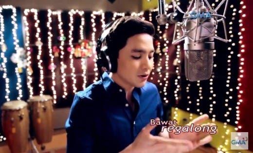 Alden Sings GMA Xmas Station ID