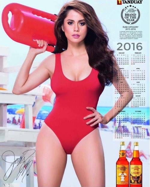 Jessy Mendiola Is Tanduay 2016 Calendar Girl Photos on What Is A Phr