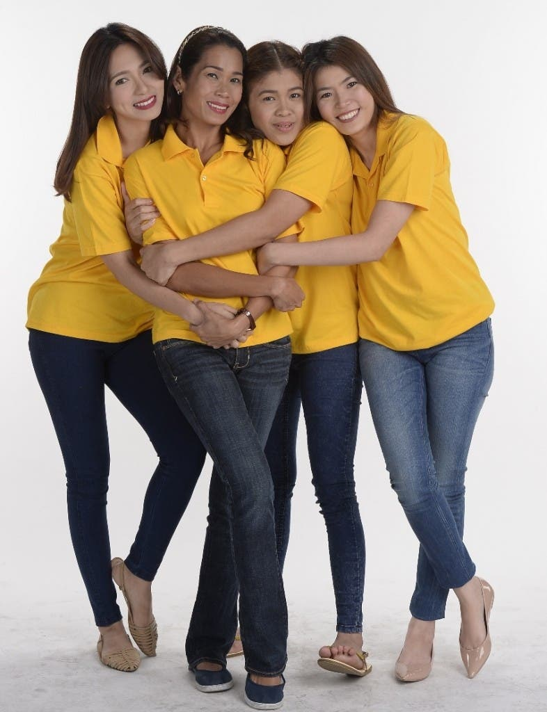 Regine, Pokwang, Melai, Bea (1)