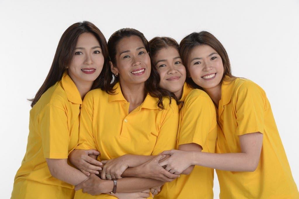 Regine, Pokwang, Melai, Bea (2)