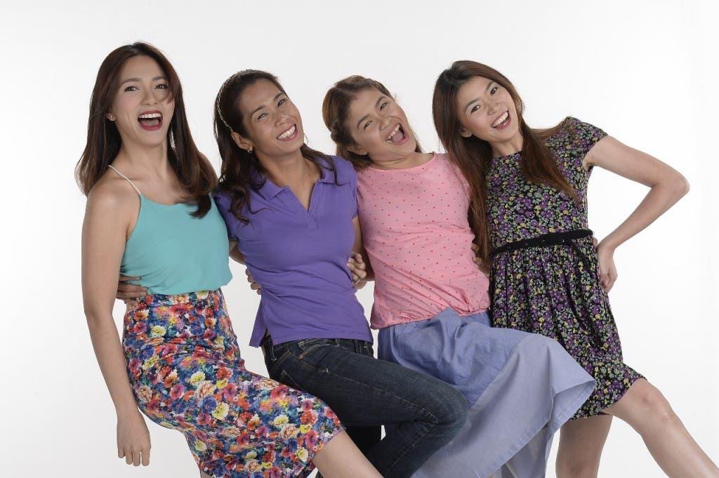 Regine, Pokwang, Melai, Bea (3)