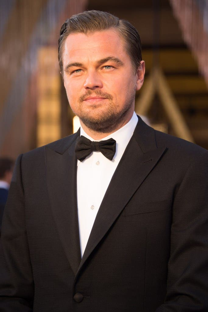 Oscar®-nominee, Leonardo DiCaprio, arrives at The 88th Oscars® at the Dolby® Theatre in Hollywood, CA on Sunday, February 28, 2016.