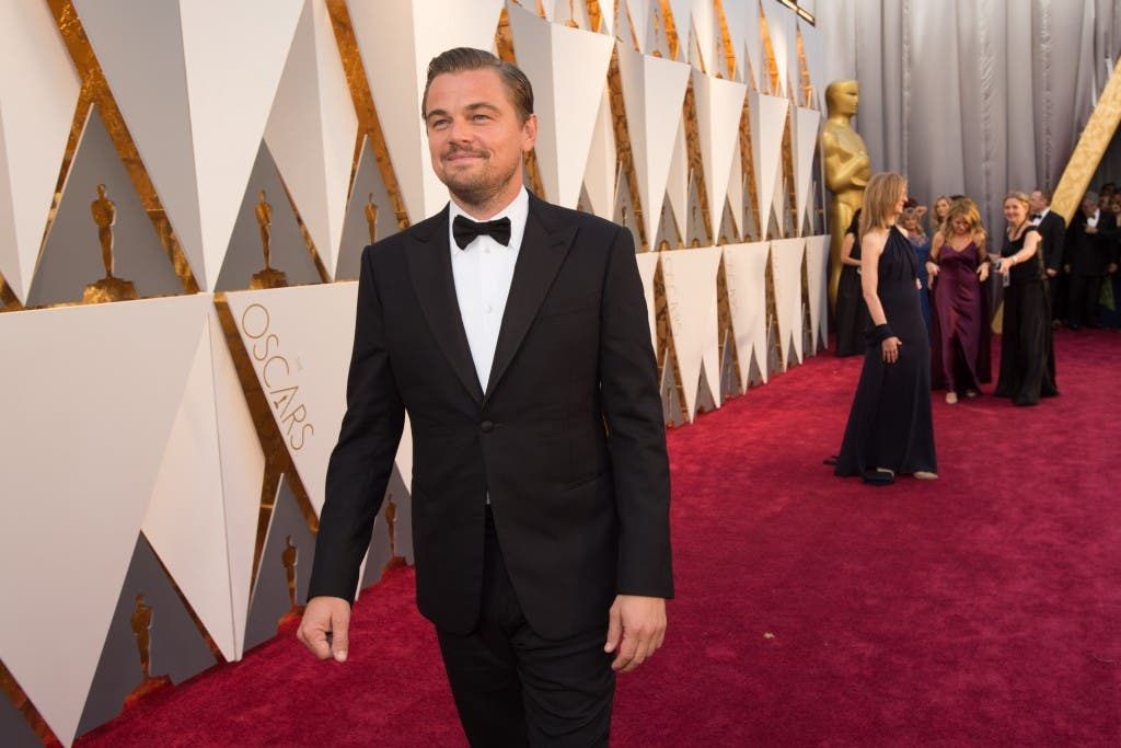 Oscar®-nominee Leonardo DiCaprio arrives at The 88th Oscars® at the Dolby® Theatre in Hollywood, CA on Sunday, February 28, 2016.