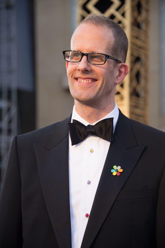 Oscar®-nominee, Pete Docter, arrives at The 88th Oscars® at the Dolby® Theatre in Hollywood, CA on Sunday, February 28, 2016.