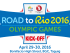 road to rio2016 logo
