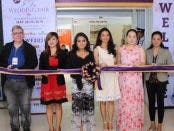 I Do Wedding Fair 2016 Cutting of Ribbon at Mega Trade Hall,SM Megamall  (From left to right) Mr. Rudolf Kotik, President of Vanity Association, Ms. Kristle San Pedro, Project Head of I Do Wedding  Fair, Ms. Marianne Rodillo, Event Director of I Do Wedding Fair, Ms. Olivia Manapat, Marketing Head of I Do Wedding Fair, Ms. Kannah Simbulan, Proprietress of KNH by Kannah, Ms. Vivian Villegas, Assistant Manager of Studio 1