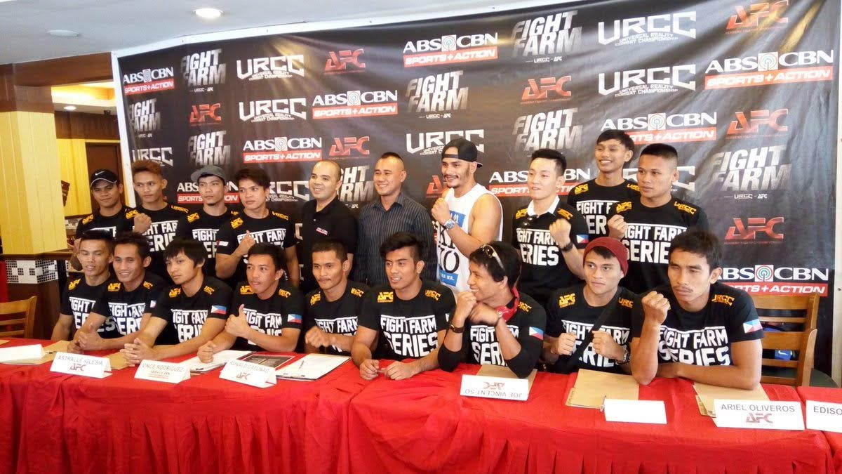 ... ABS CBN Sports + Action, Together With The URCC And The Academy  Fighting Championship (AFC) Will Bring To Televiewers U201cFight Farm,u201d The  First Ever ...