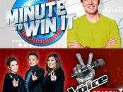 Minute to Win It Voice Kids