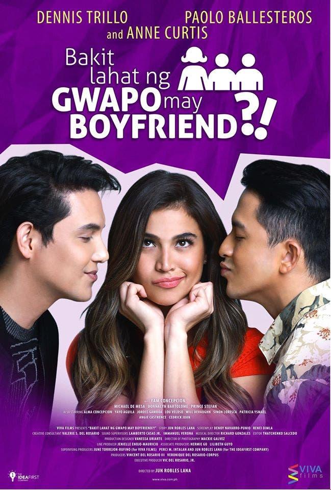 Bakit lahat ng guwapo may boyfriend (2016) CAMRip