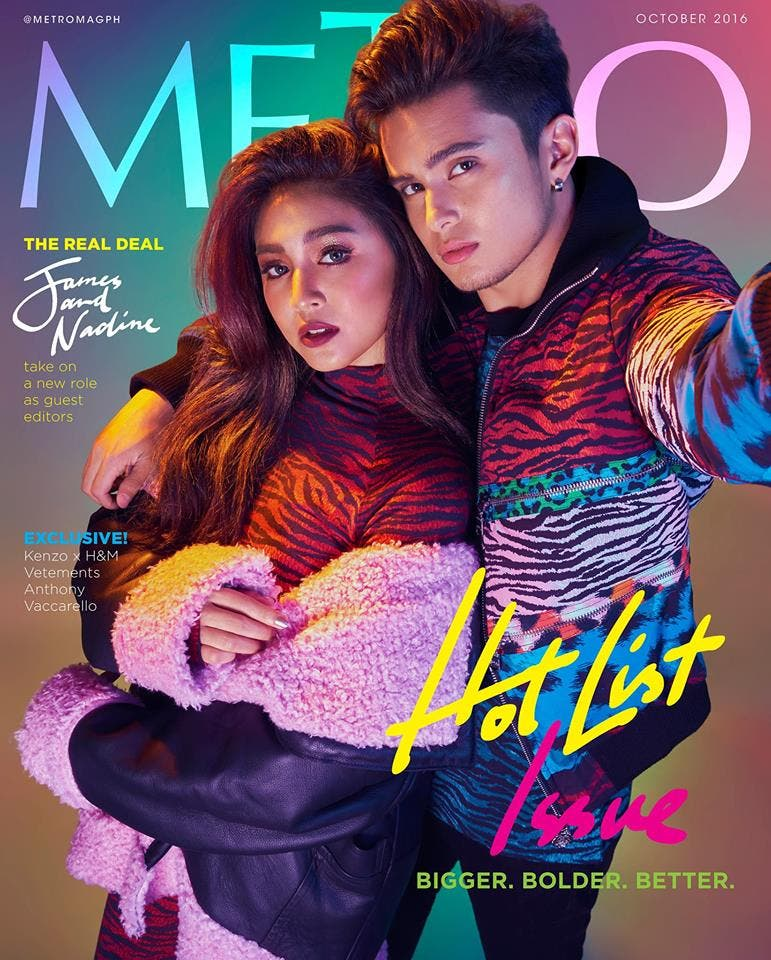 Lustre are on the cover of metro magazine s october 2016 issue
