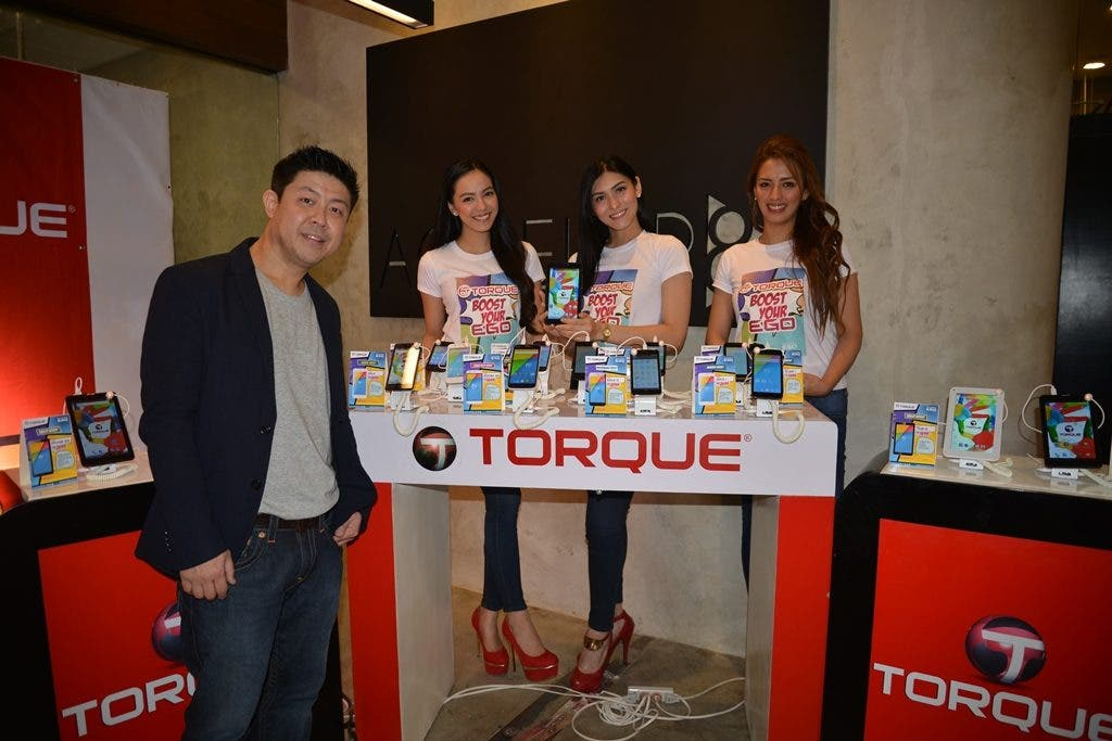 Torque Mobile CEO Mr. Chris Uyco presenting the Ego Series 1.0