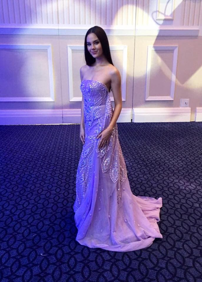 Catriona Gray Wears Francis Libiran in the Final of Miss World 2016 ...
