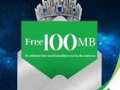 Free 100 MB