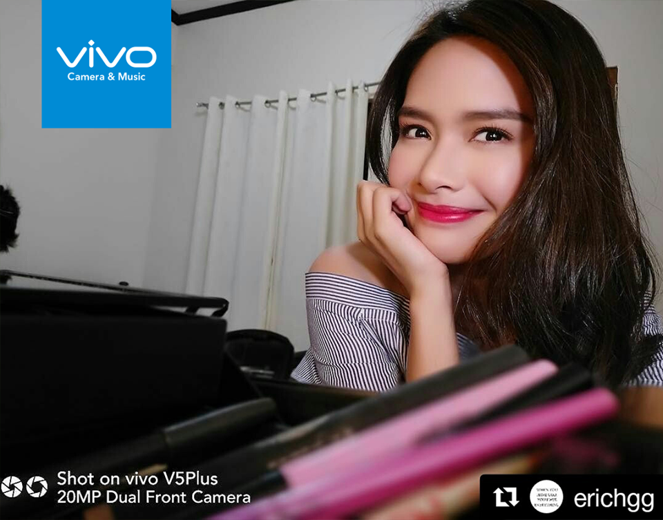 Erich Gonzales of Be My Lady gushes over the Vivo V5 Plus, saying this phone has made selfie-taking an easy task.