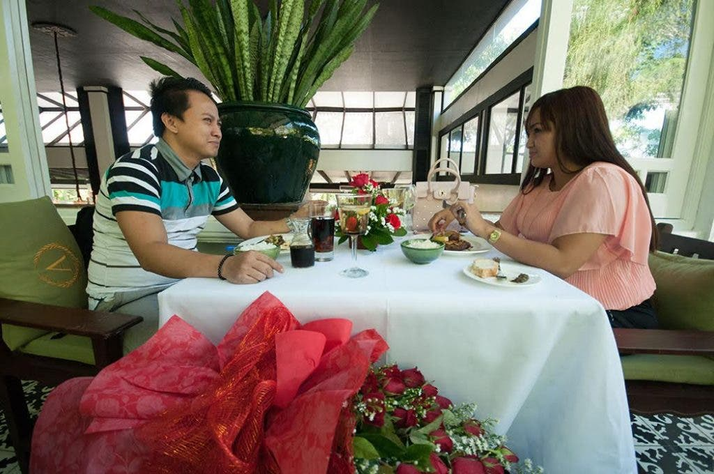M&M's surprise date for the Bernales couple