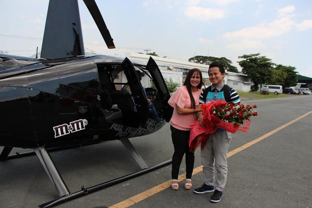 Move over Christian Grey and Anastasia Steele.  Jessa and Froilan Bernales' ride is M&M's -sweet!