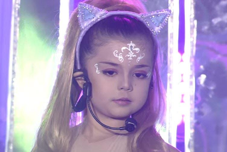 Xia Vigor as Ariana Grande – 'Break Free' – Your Face