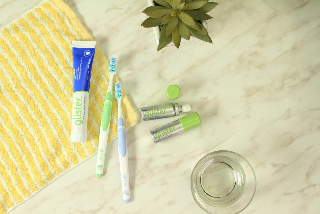 Get Amway-fresh with Glister. Take your pick from Glister toothpaste, advanced toothbrush, and easy-to-carry Glister Mint Refresher Spray to get an instant boost of confidence.