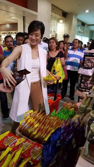 Maricar Reyes shopping