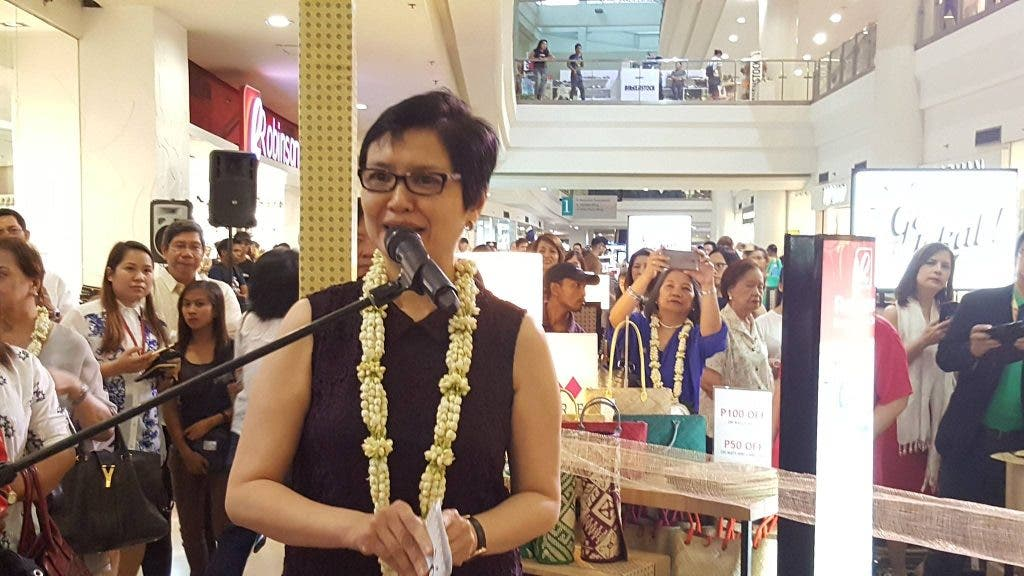 Robina Gokongwei-Pe, President and COO of Robinsons Department Store
