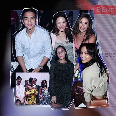 Stars at Bench event