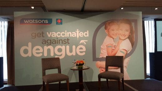 Get Vaccinated Against Dengue