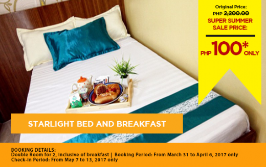Starlight Bed And Breakfast Rates