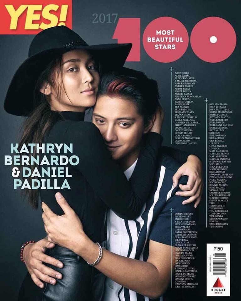 Kathryn Bernardo and Daniel Padilla Lead YES! Magazine's ...