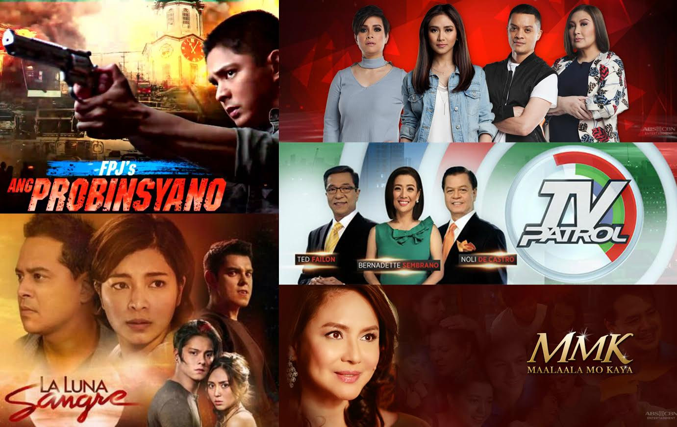abs cbn is still most watched network in june led by tv programs