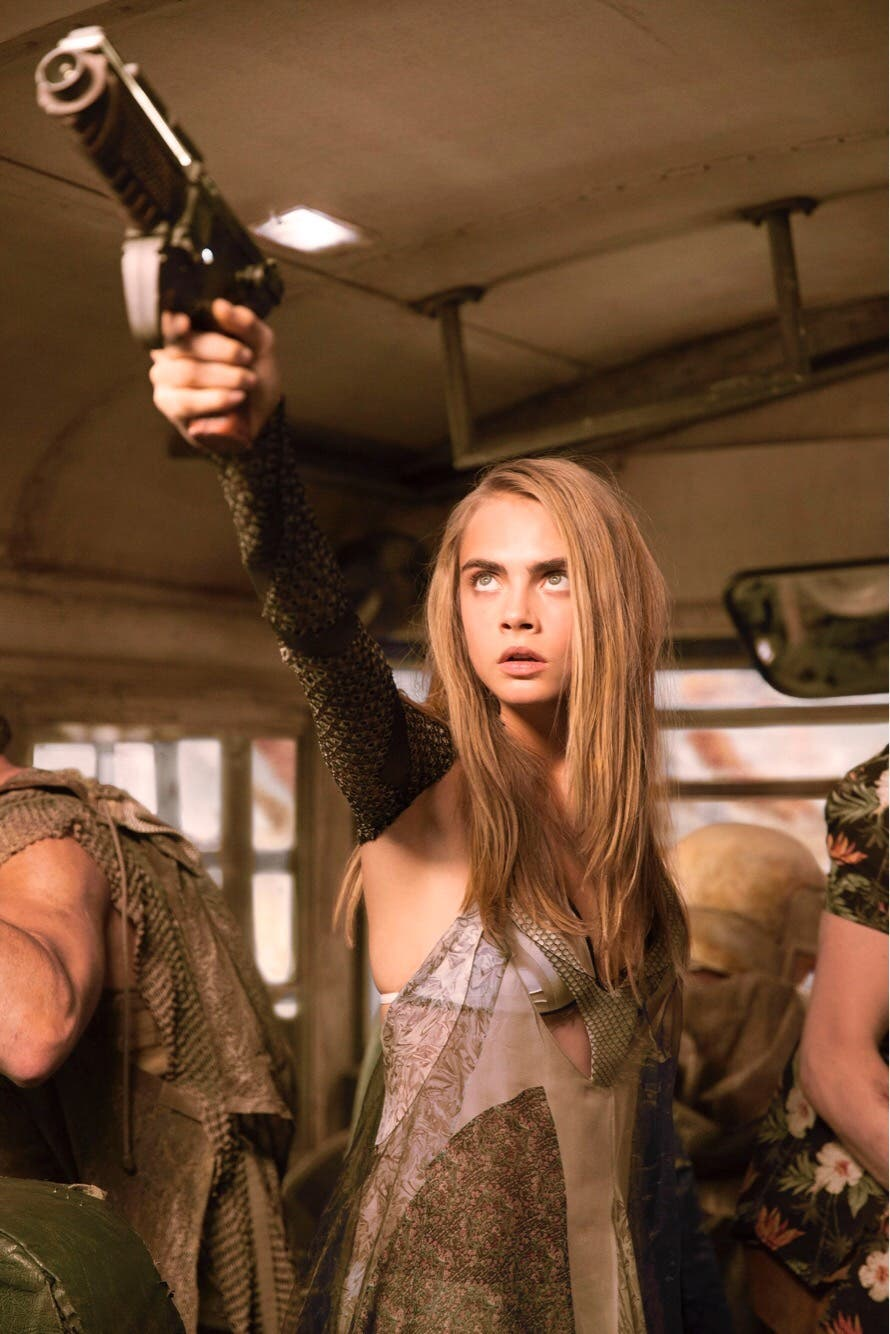 Cara Delevingne Stars in Visually Captivating Movie ...