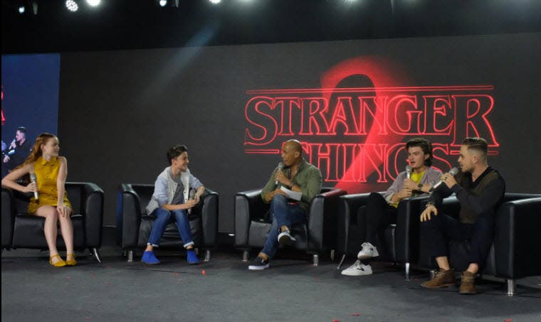 Stranger things 2 cast members grace the asia pop comic con in heres the trailer for netflixs stranger things season 2 m4hsunfo