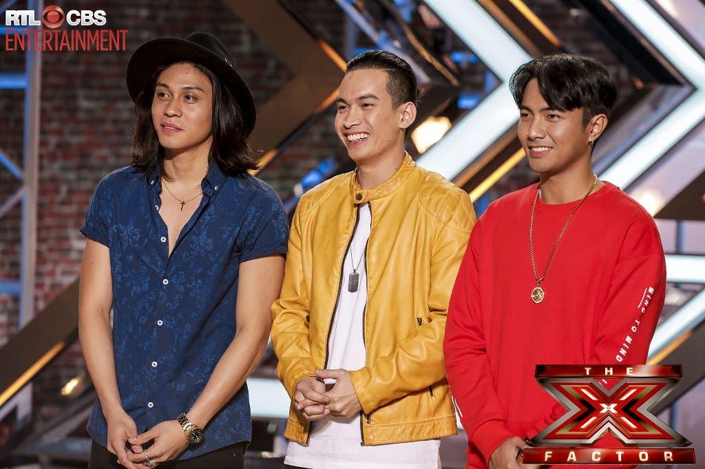X Factor Judges 2008